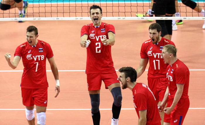 Волейболисты сборной России выиграли чемпионат Европы