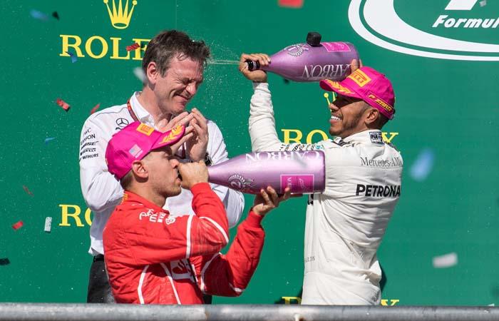 """Хэмилтон выиграл Гран-при США """"Формулы-1"""""""