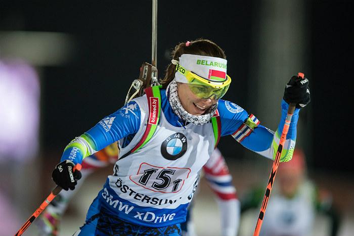 Белорусская биатлонистка Скардино выиграла индивидуальную гонку на этапе КМ
