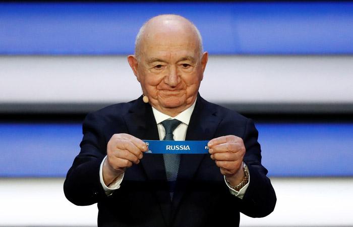 Определились соперники сборной России на групповом этапе ЧМ-2018