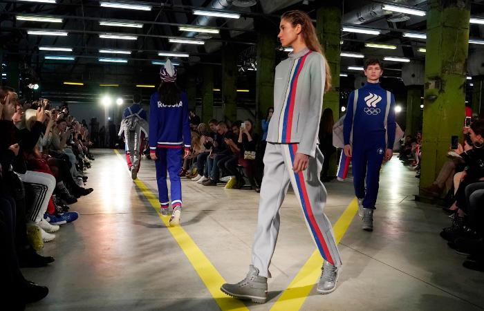 Россия изготовит форму для своих олимпийцев