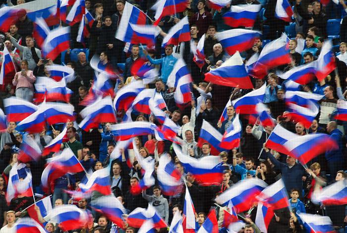 Сборная России по футболу поднялась на 64-е место в рейтинге ФИФА