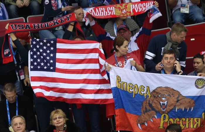 США - Россия. Онлайн