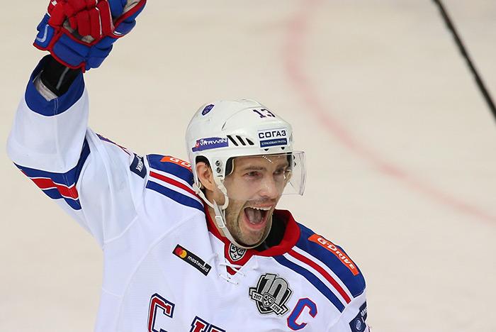 Павел Дацюк назначен капитаном хоккейной команды России на Олимпиаде