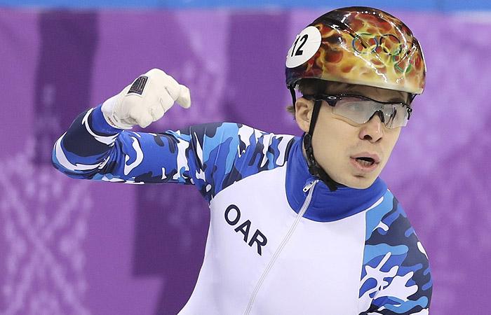 Шорт-трекист Елистратов принес России первую медаль Олимпиады