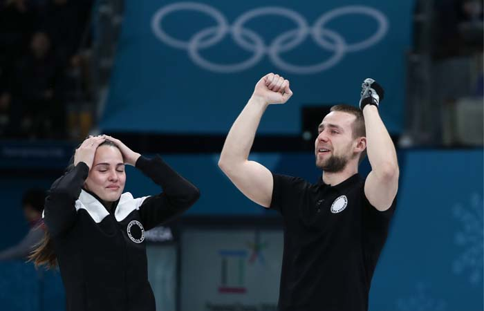 Российские керлингисты завоевали бронзу Олимпиады в дабл-миксте