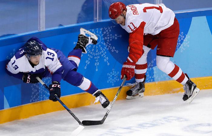 Российские хоккеисты проиграли Словакии в матче Олимпиады