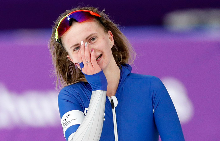 Российская конькобежка Воронина завоевала бронзу ОИ в забеге на 5000 м