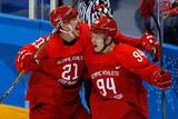 Сборная России по хоккею забросила восемь шайб в ворота Словении на ОИ