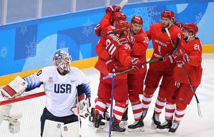 Россия победила США и вышла в четвертьфинал Олимпиады