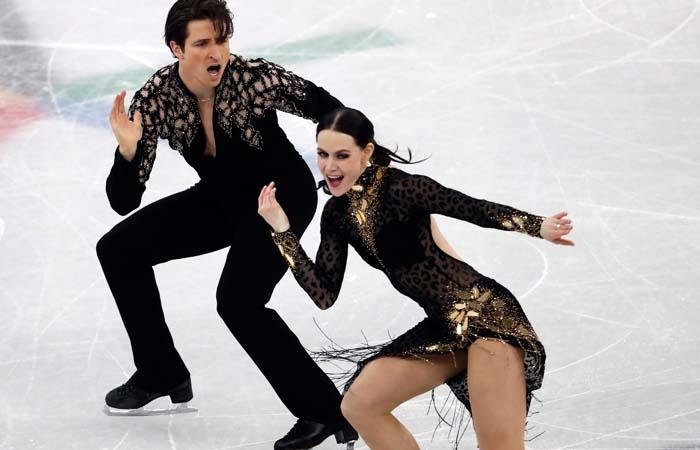 Канадцы Вертью и Моир выиграли короткую программу танцоров с рекордом мира