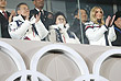Закрытие Игр в Пхенчхане посетила дочь президента США Дональда Трампа и его советник Иванка Трамп. На трибуне она вместе с президентом Южной Кореи Мун Чжэ Ином и его супругой
