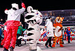 Талисман Олимпиады в Южной Корее белый тигренок Сухоран