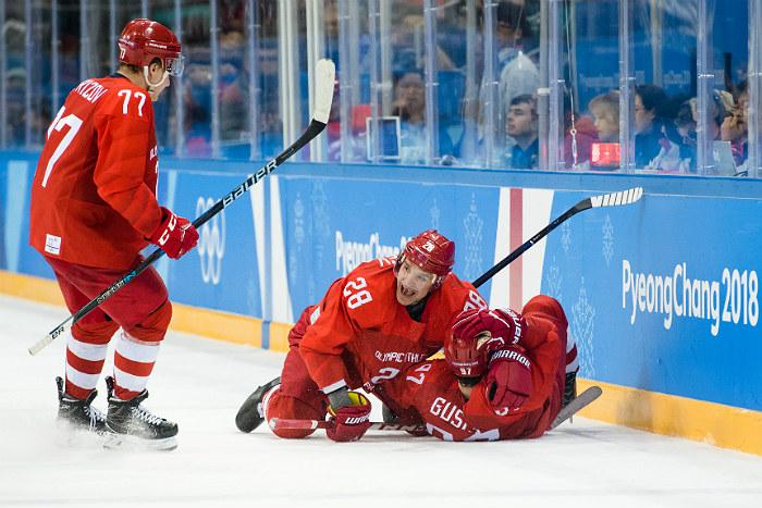 Российские хоккеисты завоевали золото Олимпиады-2018