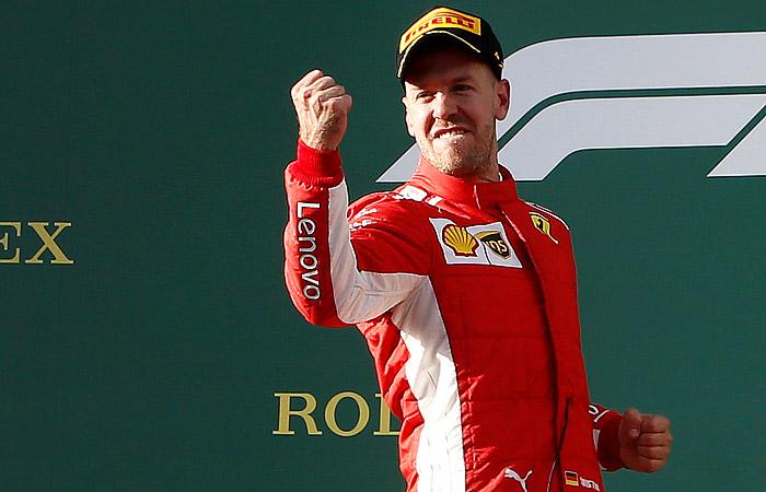 """Феттель выиграл Гран-при Австралии """"Формулы-1"""""""