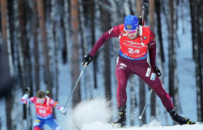 Российский биатлонист Цветков выиграл масс-старт на этапе КМ в Тюмени