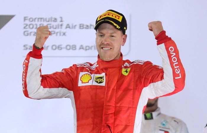 "Феттель выиграл Гран-при Бахрейна ""Формулы-1"""