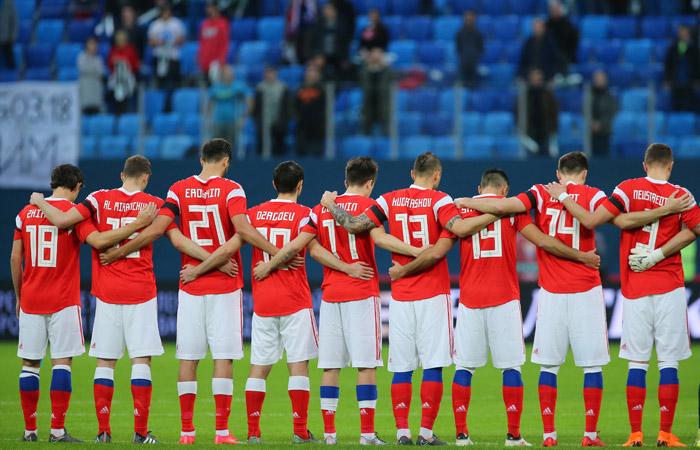 Россия опустилась на 66-е место в рейтинге ФИФА
