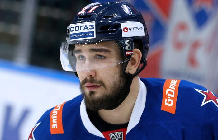 Защитник Войнов решил покинуть СКА и попробовать вернуться в НХЛ