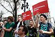 Сторонники Навального собрались на Пушкинской площади