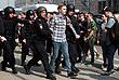 По данным очевидцев, полиция задержала порядка 30 человек