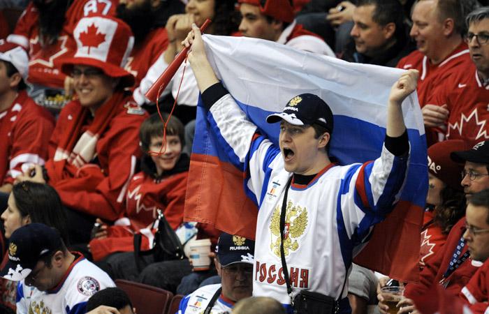 Россия - Канада. Онлайн