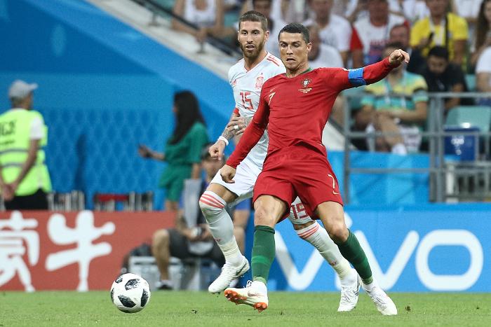 Сборные Португалии и Испании сыграли вничью