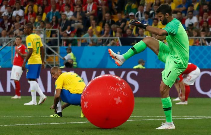 Сборные Бразилии и Швейцарии сыграли вничью в матче ЧМ-2018