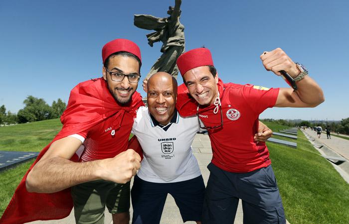 Тунис - Англия. Онлайн
