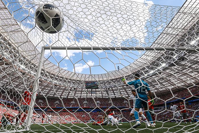 Сборная Португалии обыграла Марокко в матче ЧМ-2018