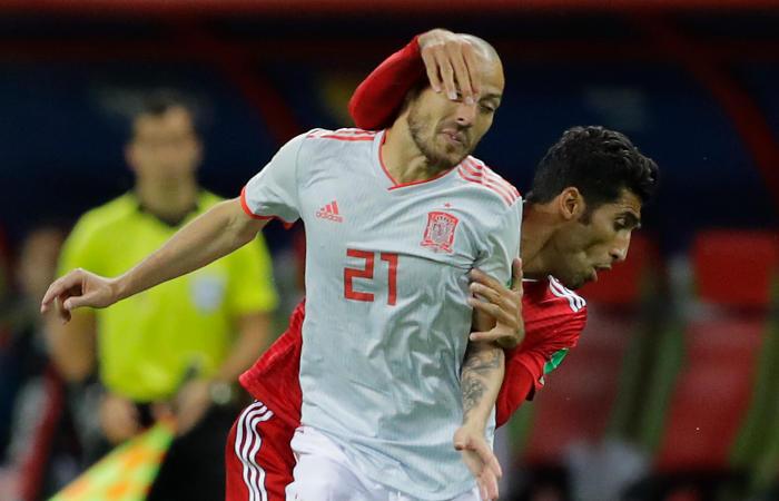 Сборная Испании обыграла команду Ирана в матче ЧМ-2018