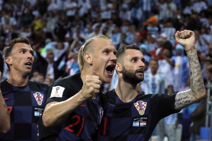 Сборная Хорватии разгромила Аргентину в матче ЧМ-2018