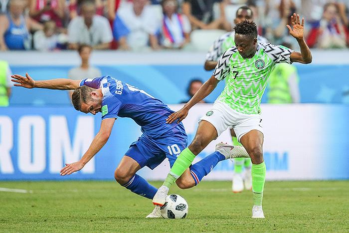 Нигерия победила Исландию в матче ЧМ-2018