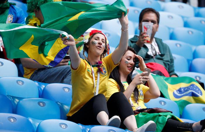 Бразилия - Коста-Рика. Онлайн