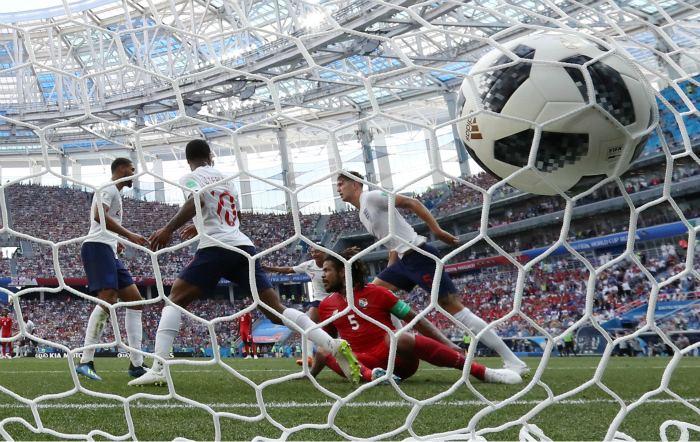 Англия со счетом 6:1 разгромила Панаму и вышла в плей-офф