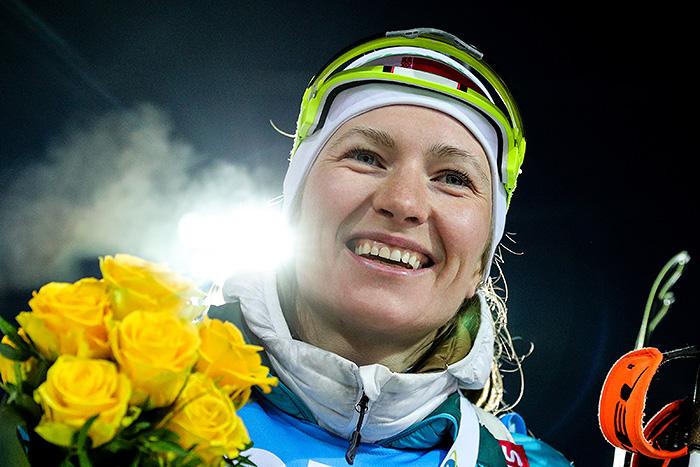 Белорусская биатлонистка Дарья Домрачева объявила о завершении карьеры