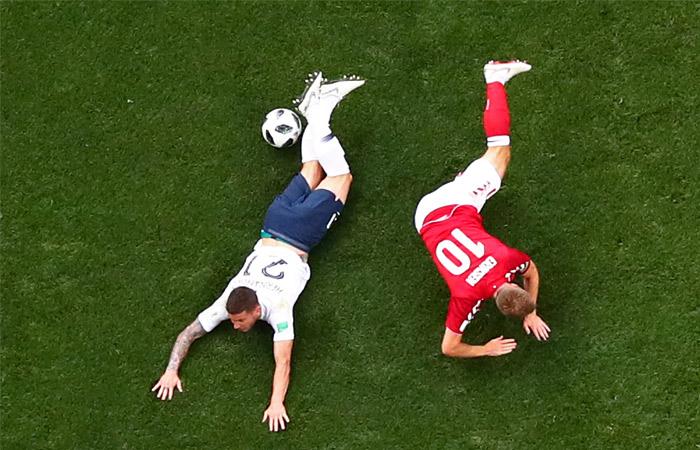 Дания сыграла вничью с Францией и вслед за ней вышла в плей-офф