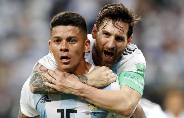 Сборная Аргентины победила Нигерию и вышла в плей-офф ЧМ-2018