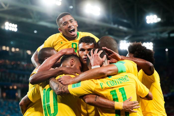 Сборные Бразилии и Швейцарии вышли в плей-офф ЧМ-2018
