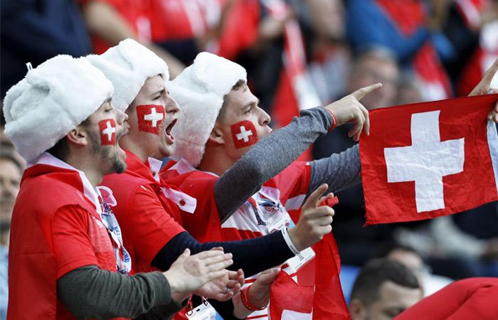 Швеция - Швейцария. Онлайн