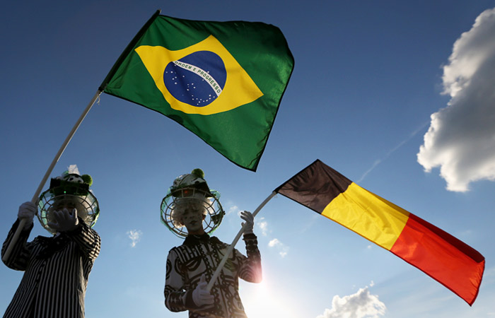 Бразилия - Бельгия. Онлайн
