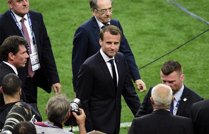 Макрон приедет на полуфинальный матч ЧМ-2018 с участием сборной Франции