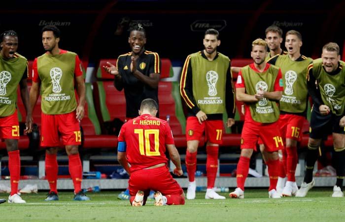 Сборная Бельгии обыграла команду Бразилии и вышла в полуфинал ЧМ-2018