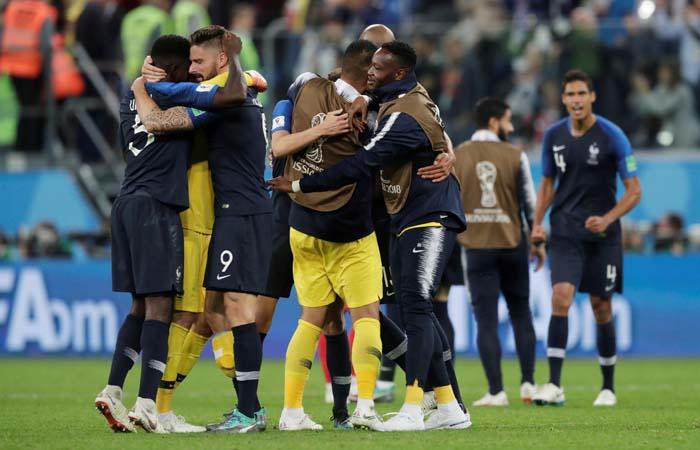 Сборная Франции победила Бельгию и стала первым финалистом ЧМ-2018