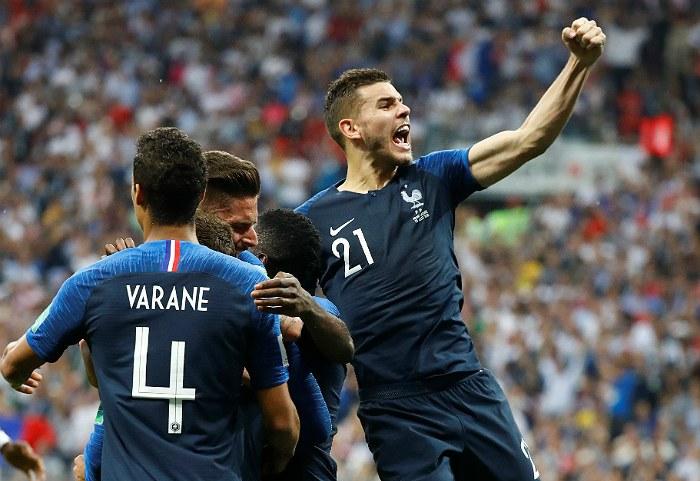 Сборная Франции по футболу завоевала золото ЧМ-2018