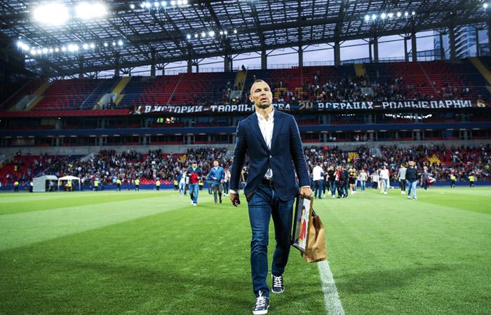 Игнашевич вошел в тренерский штаб молодежной команды ЦСКА
