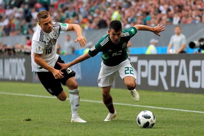 Сборная Германии уступила Мексике в матче ЧМ-2018