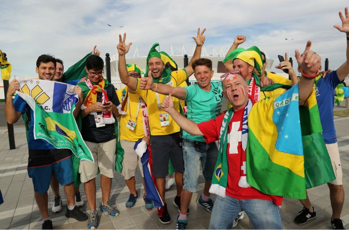 Бразилия - Швейцария. Онлайн