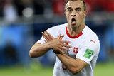 ФИФА оштрафовала швейцарских игроков за политические жесты в матче с Сербией
