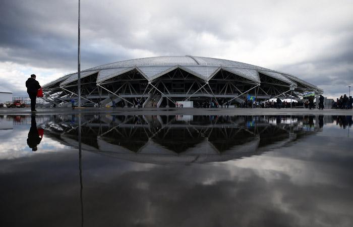 Построенный к ЧМ-2018 стадион в Самаре отключили от электричества за долги